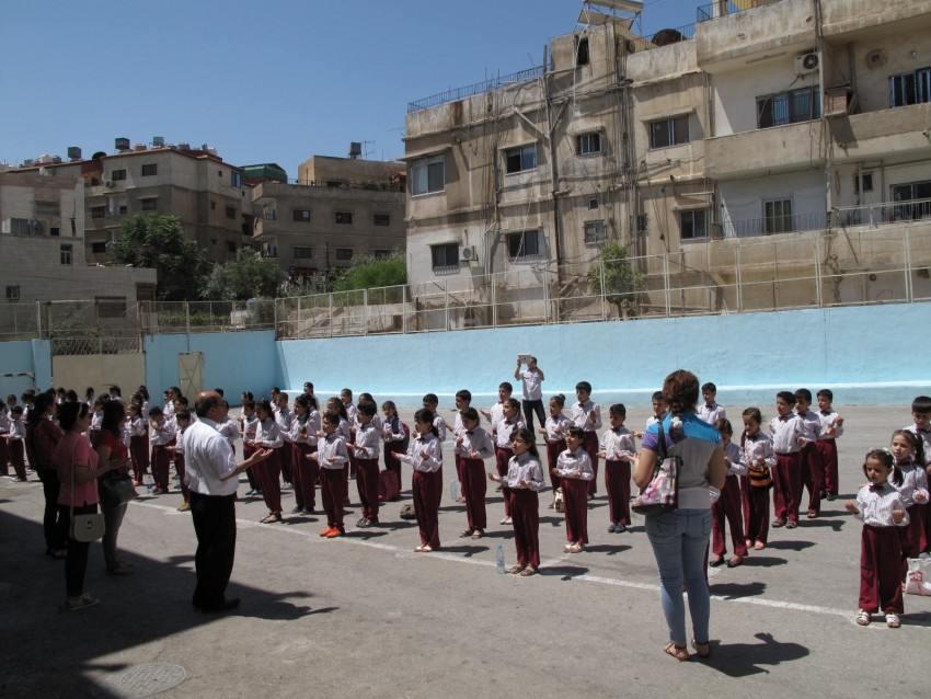 Children at school, Jordan
