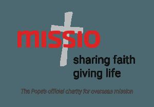 Missio logo, tagline