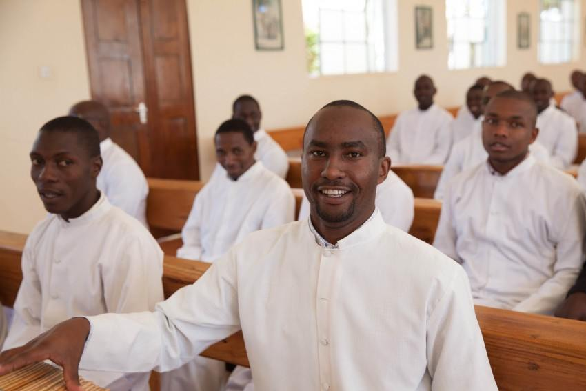 Seminarian, Kenya, Christ the King Seminary, Nyeri, John Baptist, Mass