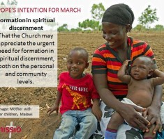 Pope Francis – March Prayer Intention