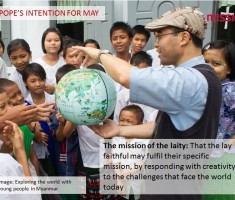 Pope Francis – May Prayer Intention