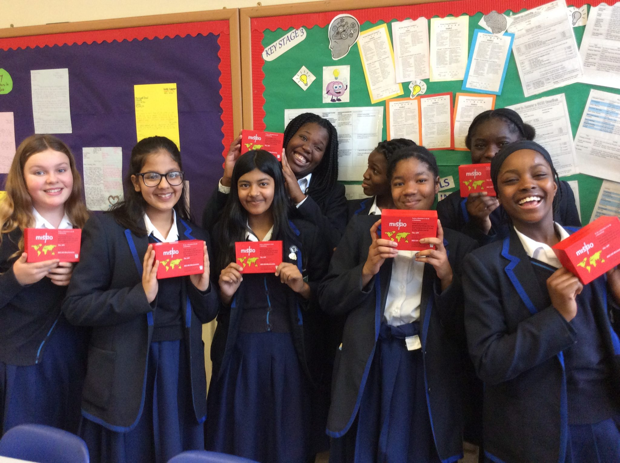 Ursaline School students, Red Box