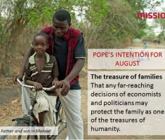 Pope Francis – August Prayer Intention