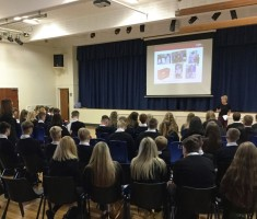 Missio visit to Holy Family High School, Carlton