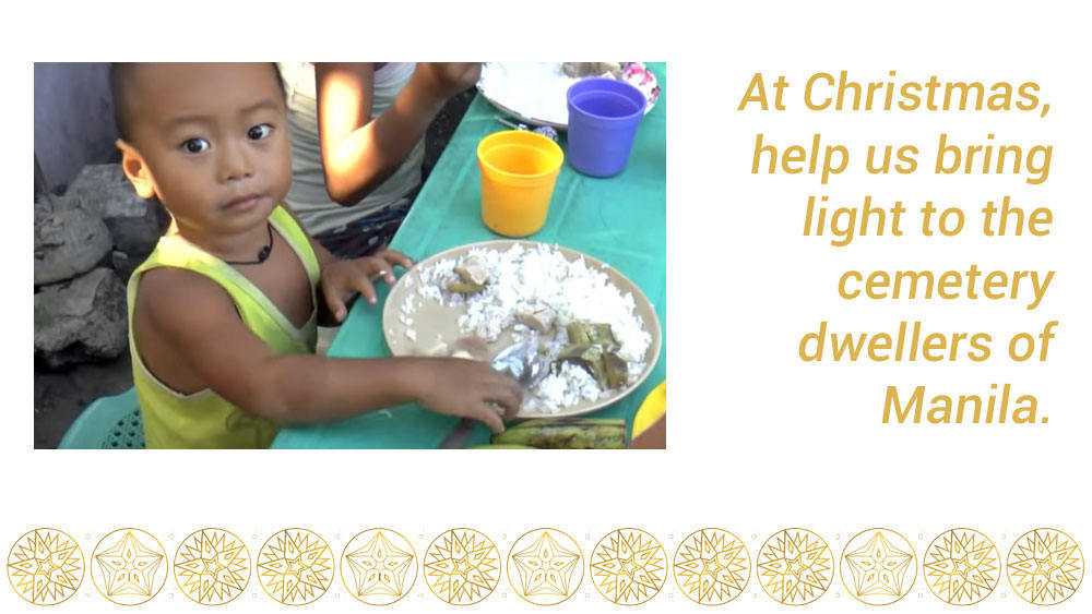 bring light to Manila's poorest people this Christmas