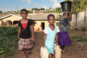 Internally displaced children