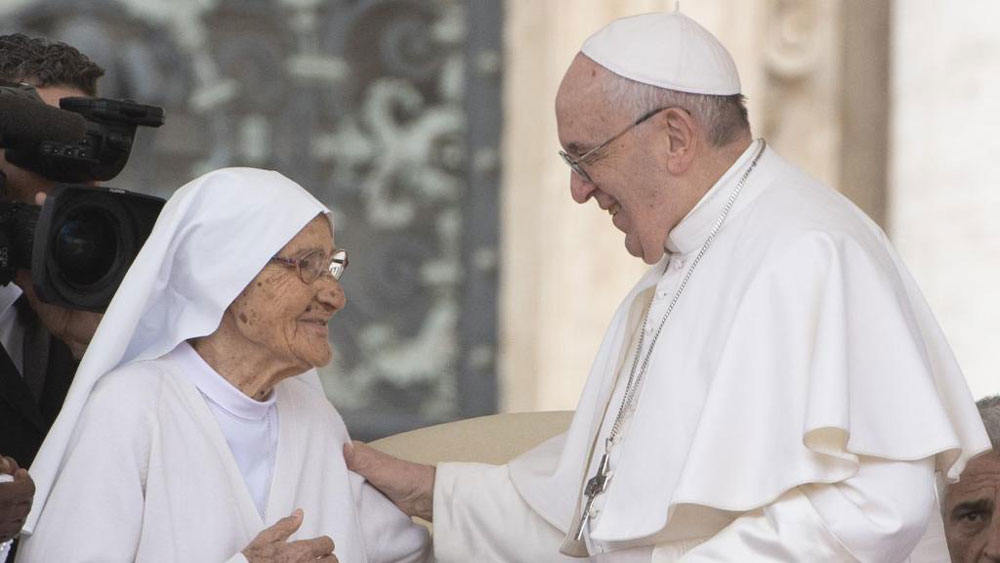 Pope Francis: 'Your work, dear missionaries, is great'