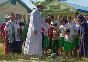 Fr John Paul combines faith and football