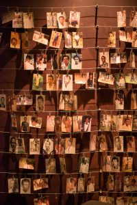 Photographs from the Kigali Genocide Memorial Museum
