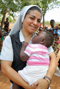 Sr Nilceia at Lisanjala Health Clinic in Malawi