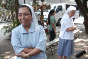 Missionary Sisters at a Health Centre supported by Missio.