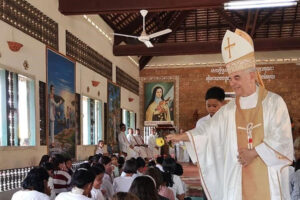 Faith, giraffes and happiness in Cambodia
