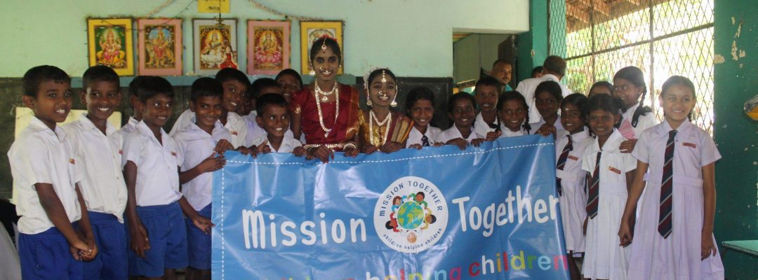 Mission Together in Sri Lanka, children helping children, plantation school